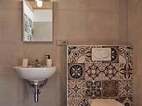 Apartmán 1 - koupelna v přízemí - Nový Přerov
