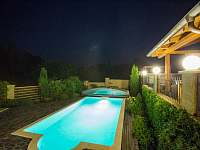 Vila Rudice, bazén s mořskou vodou - k pronajmutí