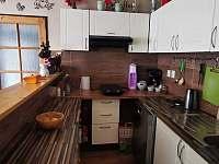 kuchyň - chalupa ubytování Dobré Pole