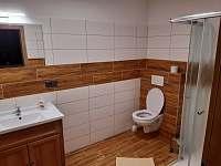 koupelna - ubytování Drnholec