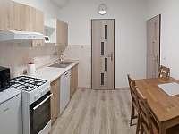 Dobšice - Apartmán č. 1 - kuchyně - rekreační dům k pronajmutí