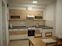 Dobšice - Apartmán č. 2 - kuchyně - rekreační dům k pronájmu