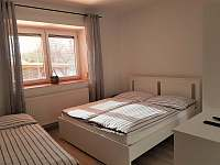 Dobšice - Apartmán č. 2 - ložnice - rekreační dům k pronajmutí