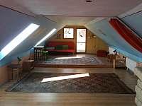 Velká pokoj I. - chalupa ubytování Kunkovice