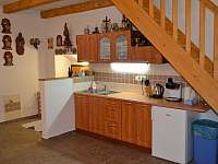Kuchyně - pronájem chalupy Jaroslavice