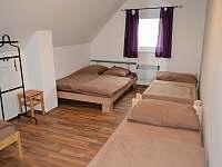 ložnice 2 - pronájem chalupy Jaroslavice