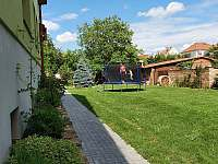 Zahrada(trampolína) - Penzion Stařa Ubytování Svatobořice-Mistřín,u Kyjova, - ubytování Svatobořice - Mistřín