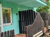 Pokoj 2 terasa - chata ubytování Bítov