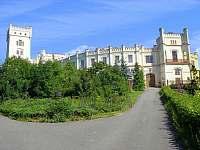 V blízkosti zámek Nový Světlov - Starý Hrozenkov
