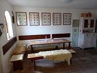 Degustační místnost - apartmán k pronájmu Mutěnice