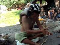Takové žáky je radost učit. Indián z Brazilského pralesa to má v krvy. - chalupa k pronájmu Valašské Klobouky