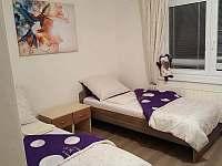 Dvoulůžkový pokoj s koupelnou - ubytování Vnorovy - Lidéřovice