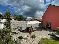 Zahrada - apartmán ubytování Břeclav - Poštorná