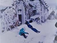 sklepy v zimním období - pronájem chalupy Vrbice u Břeclavi