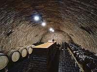 Vinný sklep pro řízené degustace - Vranovice
