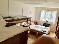ložnice 2 - 6 lůžek - chata k pronájmu Ivančice