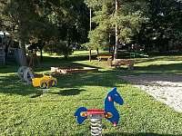 Dětské hřiště 400m - chalupa k pronájmu Šardice