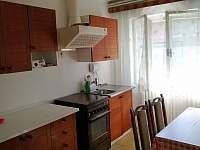 Kuchyně - chalupa ubytování Šardice