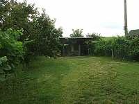 Zahrada - chata ubytování Pasohlávky
