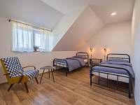 Ložnice B - chalupa ubytování Žádovice