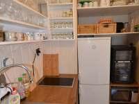 Kuchyň se vším potřebným - pronájem chaty Bítov