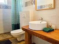 koupelna - chalupa k pronájmu Nove Mlyny