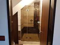 Koupelna podkroví - sprchový kout - Mutěnice