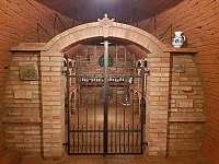 Vinný sklep suterén - archiv - chata k pronájmu Mutěnice