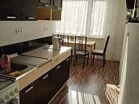 kuchyň - apartmán k pronájmu Znojmo