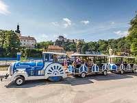 Turistický vláček ve Vranově nad Dyjí