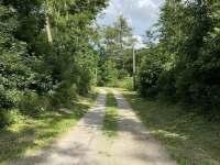 Příjezdová cesta - chalupa k pronájmu Vevčice