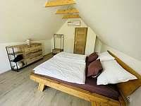 2 lůžková ložnice - pronájem chaty Mutěnice