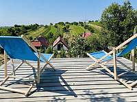 Sluneční terasa mezi vinohrady - chata k pronajmutí Mutěnice