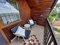 Balkón - apartmán k pronájmu Velké Bílovice