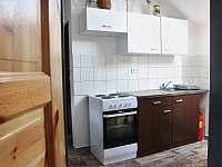 Kuchyně - chata k pronajmutí Prušánky - Nechory