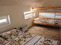 Ložnice 2 - chata ubytování Prušánky - Nechory