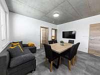 Apartmán II - obývací pokoj s kuchyní - k pronájmu Hrabětice