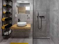 Apartmán III - koupelna - Hrabětice