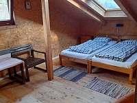 Ložnice 1 - chata k pronájmu Vřesovice