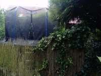 Trampolína na zahradě - chata k pronajmutí Vřesovice