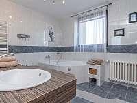 koupelna se sprchovým koutem i vanou - apartmán k pronajmutí Břeclav - Poštorná