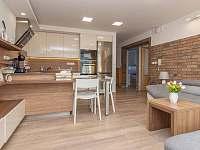 Obývací pokoj - apartmán ubytování Břeclav - Poštorná