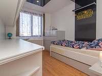 pokoj s jednolůžkovou postelí - apartmán k pronajmutí Břeclav - Poštorná