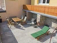 terasa - rekreační dům k pronajmutí Znojmo