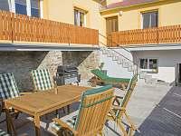 terasa - rekreační dům k pronájmu Znojmo