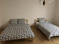 ložnice - chalupa k pronajmutí Dolní Věstonice