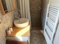 Koupelna přízemí - pronájem chaty Buchlovice - Smraďavka