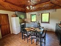 Kuchyň v přízemí - chata ubytování Buchlovice - Smraďavka