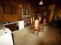 Kuchyňka - ubytování Lančov