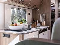 Kuchyně - apartmán k pronajmutí Unkovice